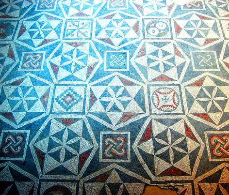 Geometric patterns in the corridors