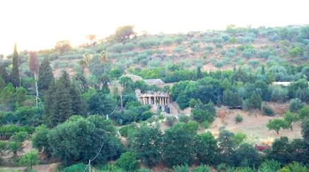 A panoramic view from the Villa
