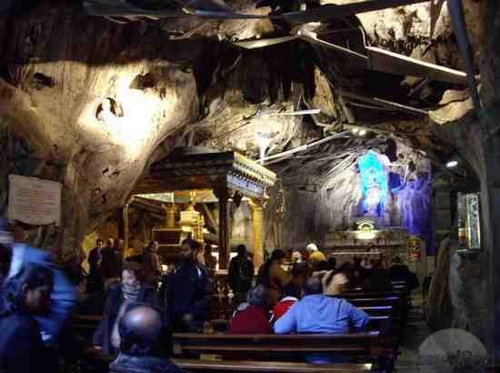 The Sanctuary Of Saint Rosalia On Monte Pellegrino