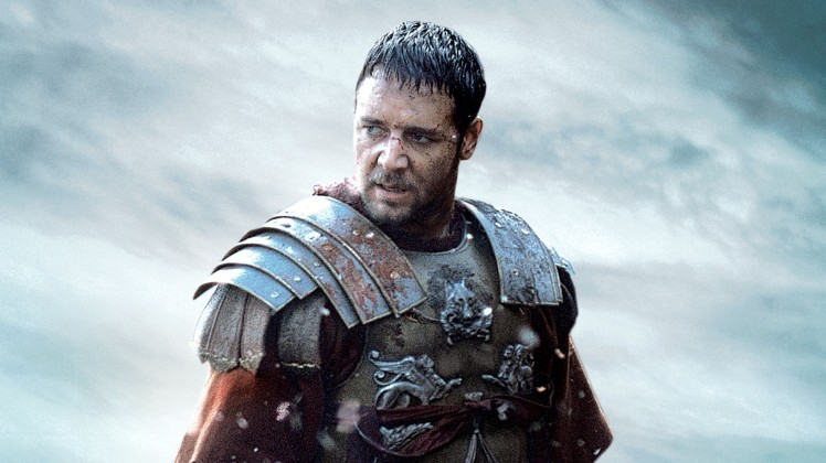 Russel Crowe - well known for gladiating all over the place