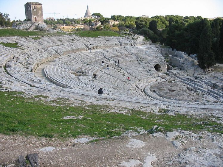 The theatre of Syracuse