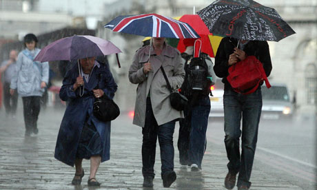 Typical English weather