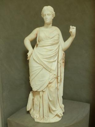 Statue in solunto, Sicily